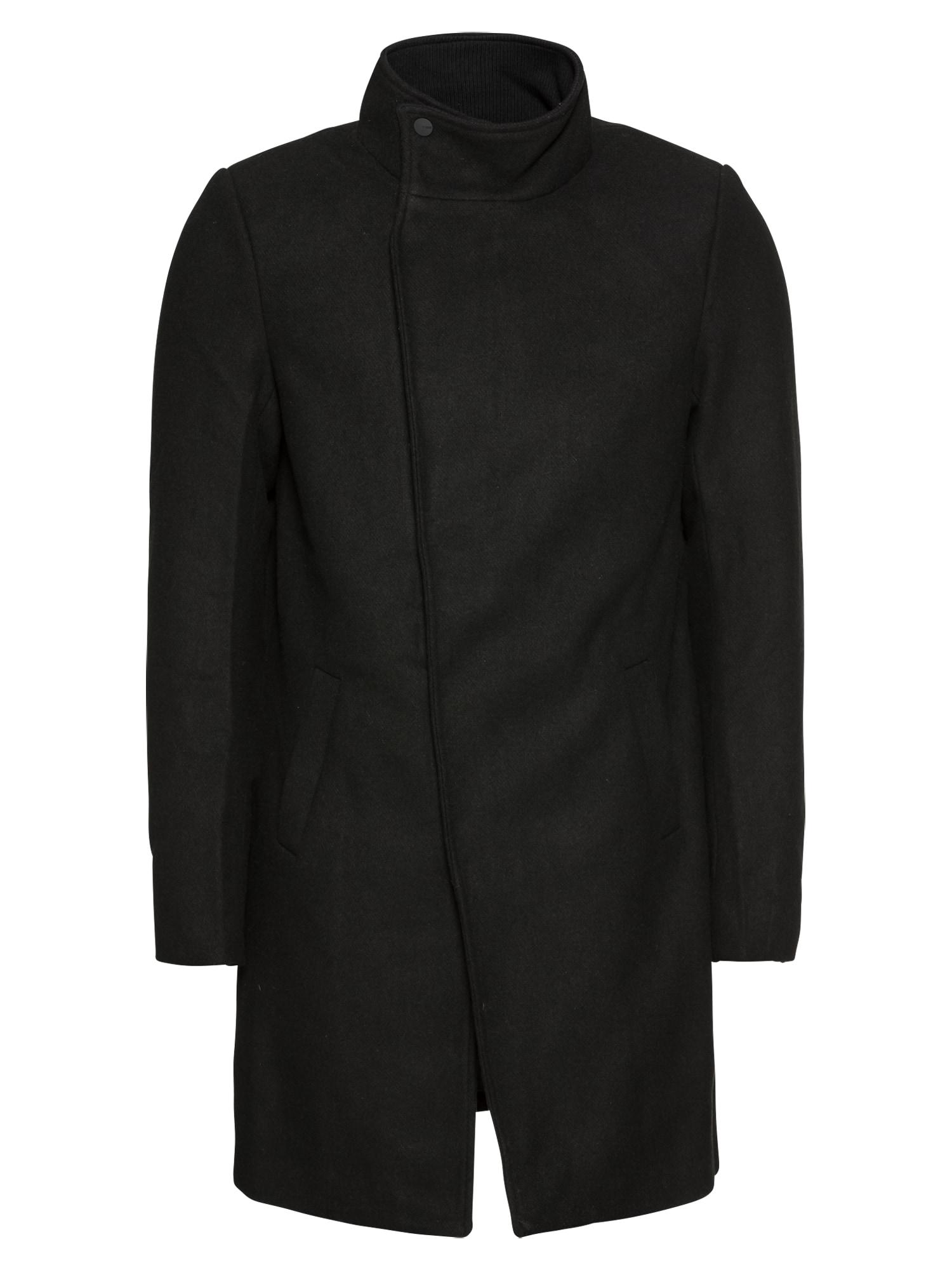 Only & Sons Rudeninis-žieminis paltas 'onsOSCAR WOOL COAT' juoda