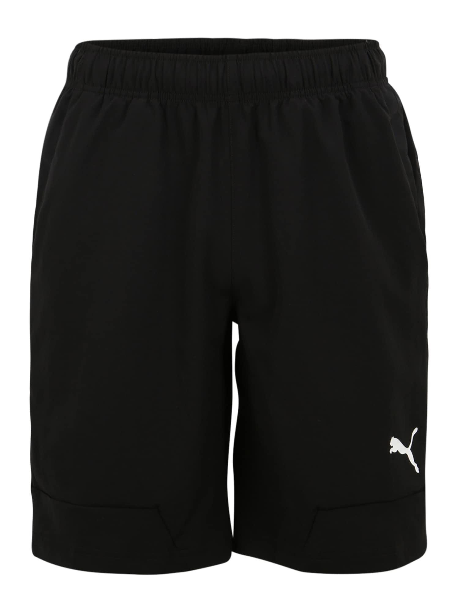 PUMA Sportinės kelnės 'RTG Woven' juoda