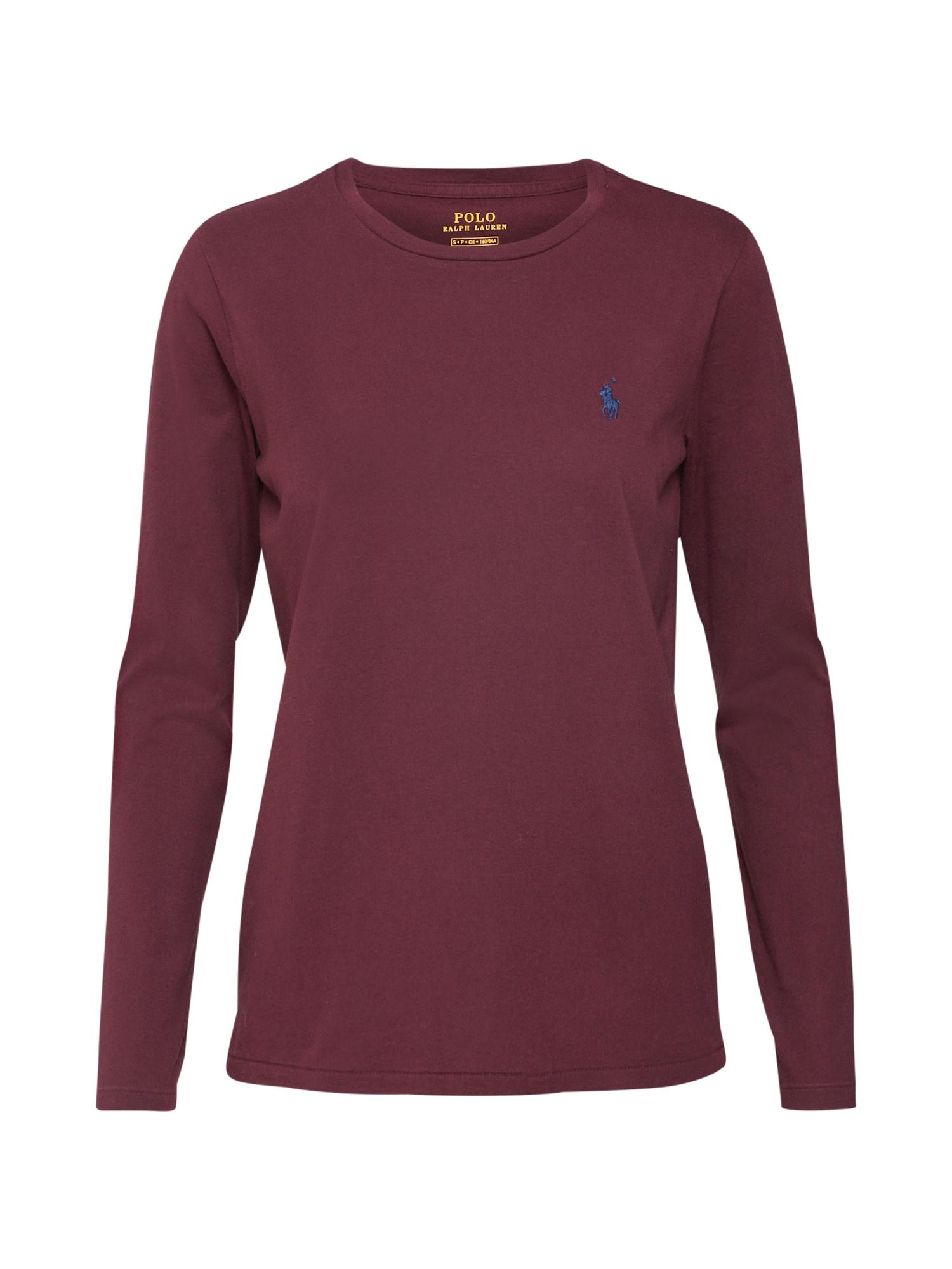 Tričko tmavě červená POLO RALPH LAUREN
