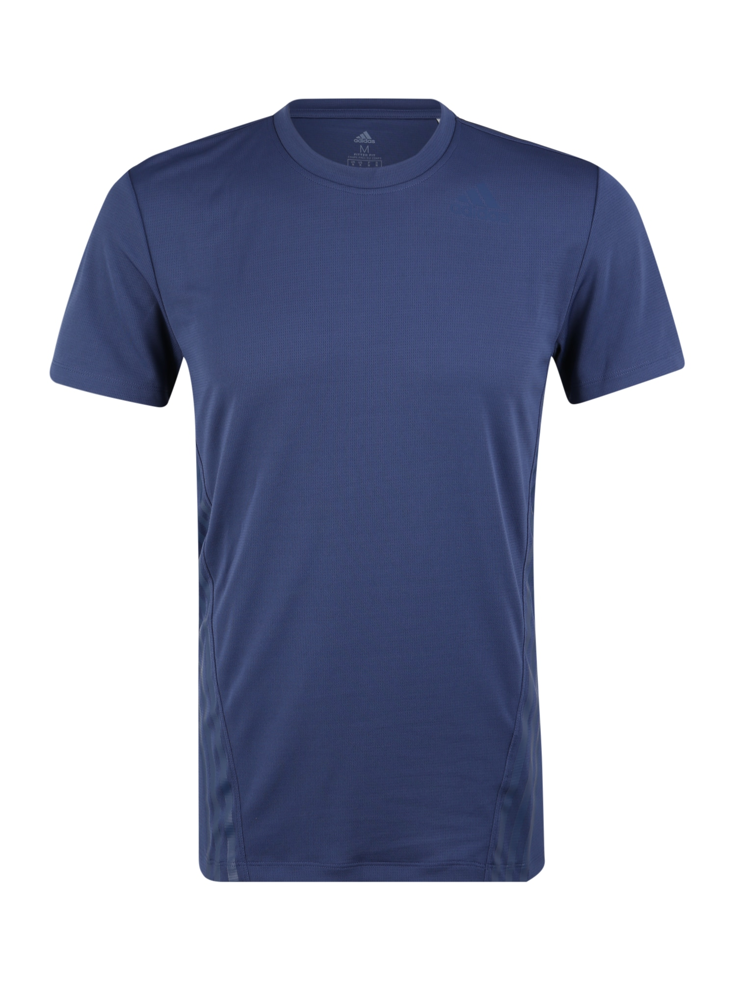 ADIDAS PERFORMANCE Sportiniai marškinėliai 'AERO 3S TEE' mėlyna