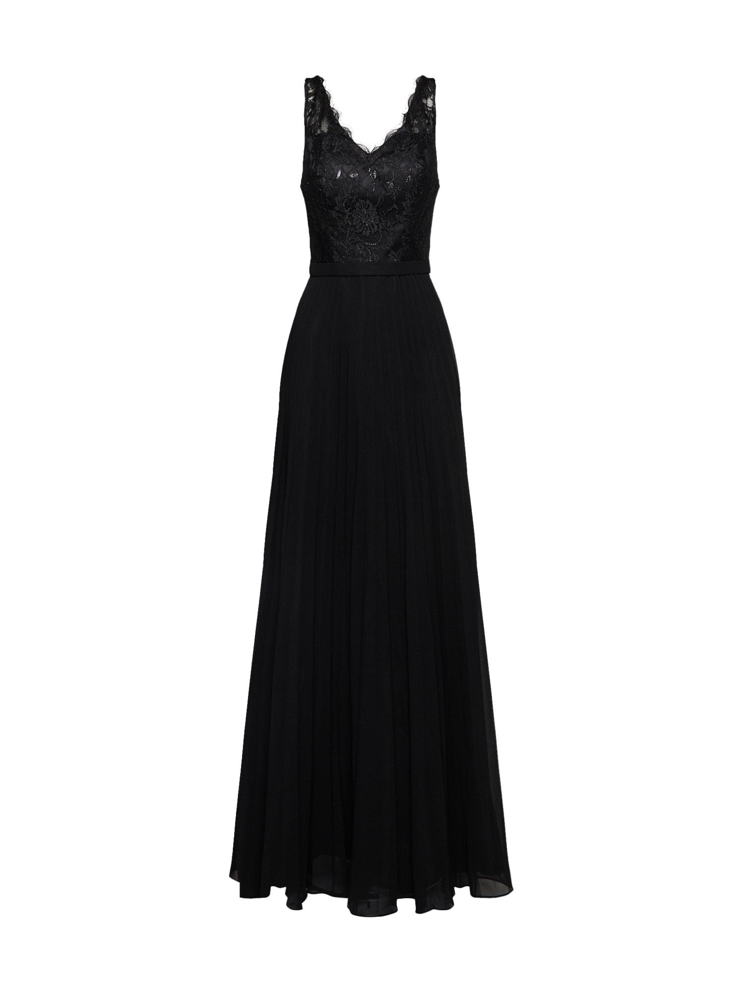 Společenské šaty černá Mascara