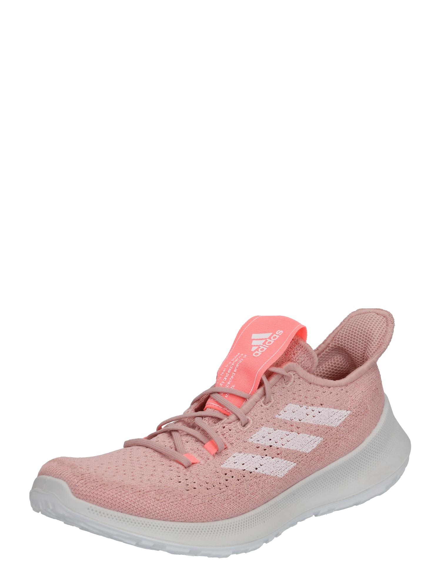 ADIDAS PERFORMANCE Sportiniai batai 'SENSEBOUNCE' rožių spalva / balta