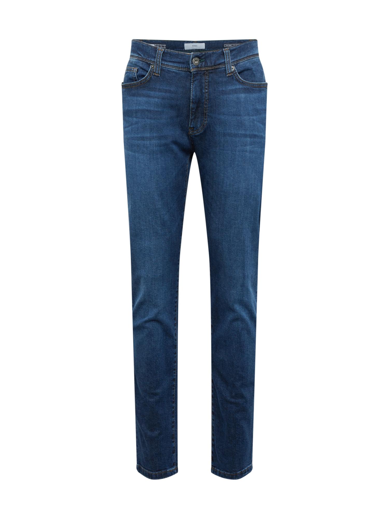 BRAX Džinsai 'cadiz' tamsiai (džinso) mėlyna