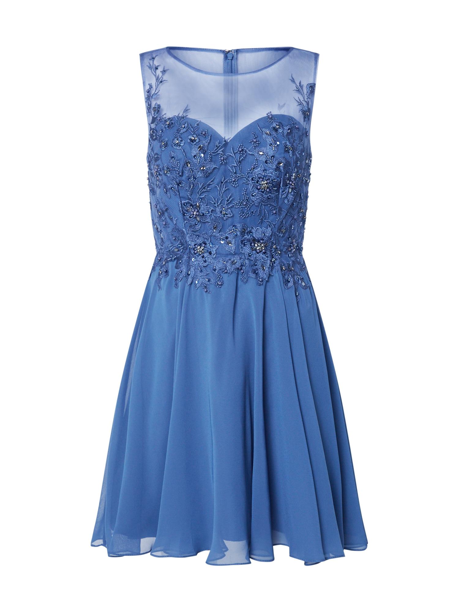 Laona Kokteilinė suknelė mėlyna dūmų spalva