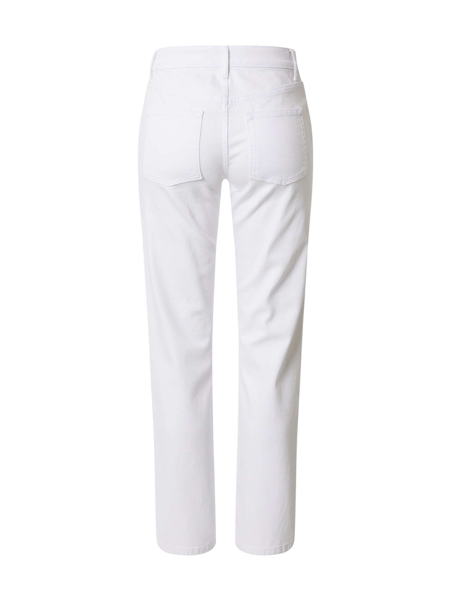 NU-IN Jeans 'Mid Rise Straight Leg Jeans'  vit
