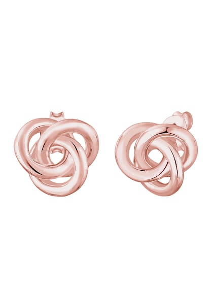 Ohrringe für Frauen - ELLI Ohrringe 'Knoten' rosegold  - Onlineshop ABOUT YOU