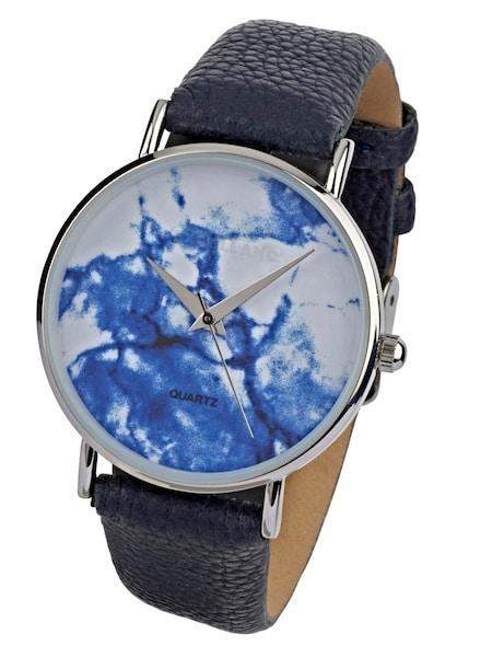 Uhren für Frauen - Heine Armbanduhr mit marmoriertem Ziffernblatt marine  - Onlineshop ABOUT YOU