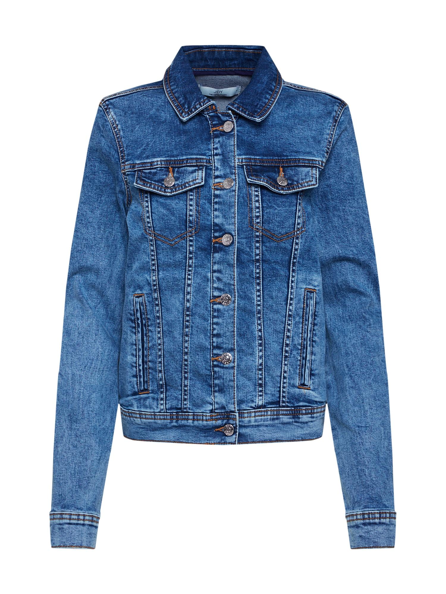 JACQUELINE de YONG Demisezoninė striukė tamsiai (džinso) mėlyna