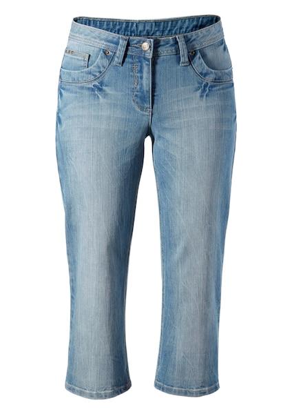 Hosen für Frauen - CHEER Caprijeans blue denim  - Onlineshop ABOUT YOU