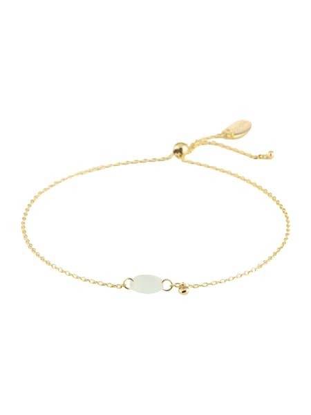 Armbaender für Frauen - Orelia Armband 'Faceted Stone Adjustable' gold silber  - Onlineshop ABOUT YOU