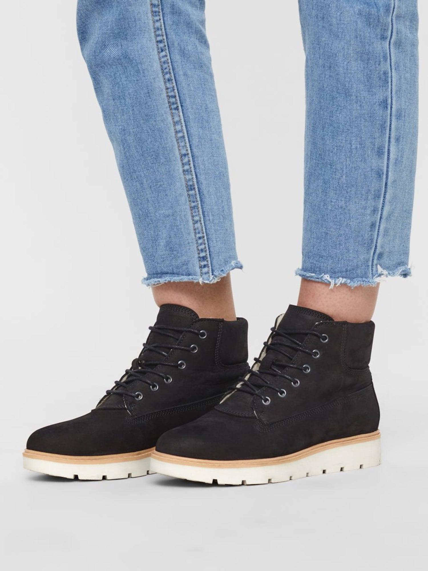 Bianco, Damen Boots Anli, abrikoos / zwart / wit