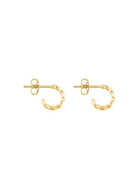 Ohrringe für Frauen - ID Fine Unicorn Mini Hoop Ohrringe gold  - Onlineshop ABOUT YOU