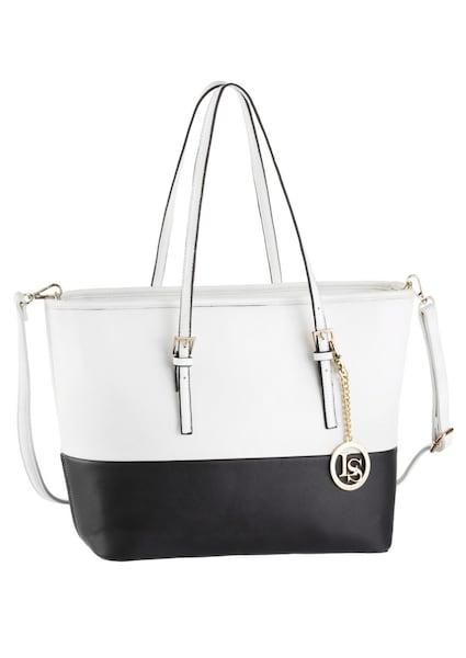 Shopper für Frauen - LAURA SCOTT Shopper schwarz weiß  - Onlineshop ABOUT YOU