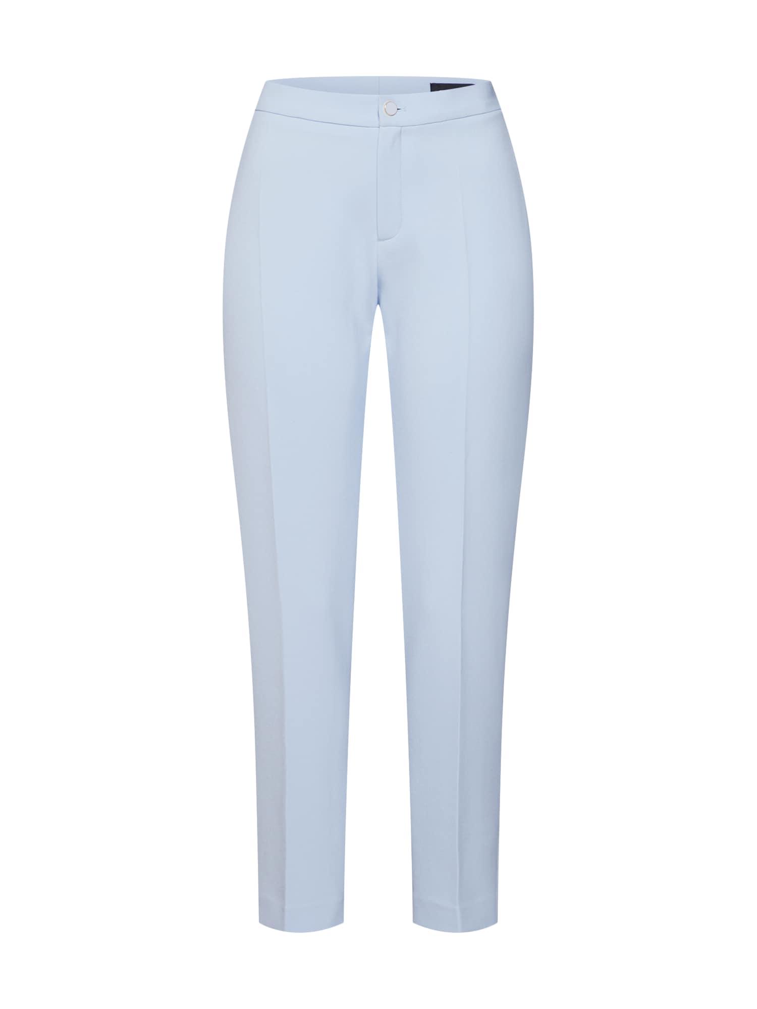 Kalhoty s puky Dori 3 Ankle světlemodrá SAND COPENHAGEN