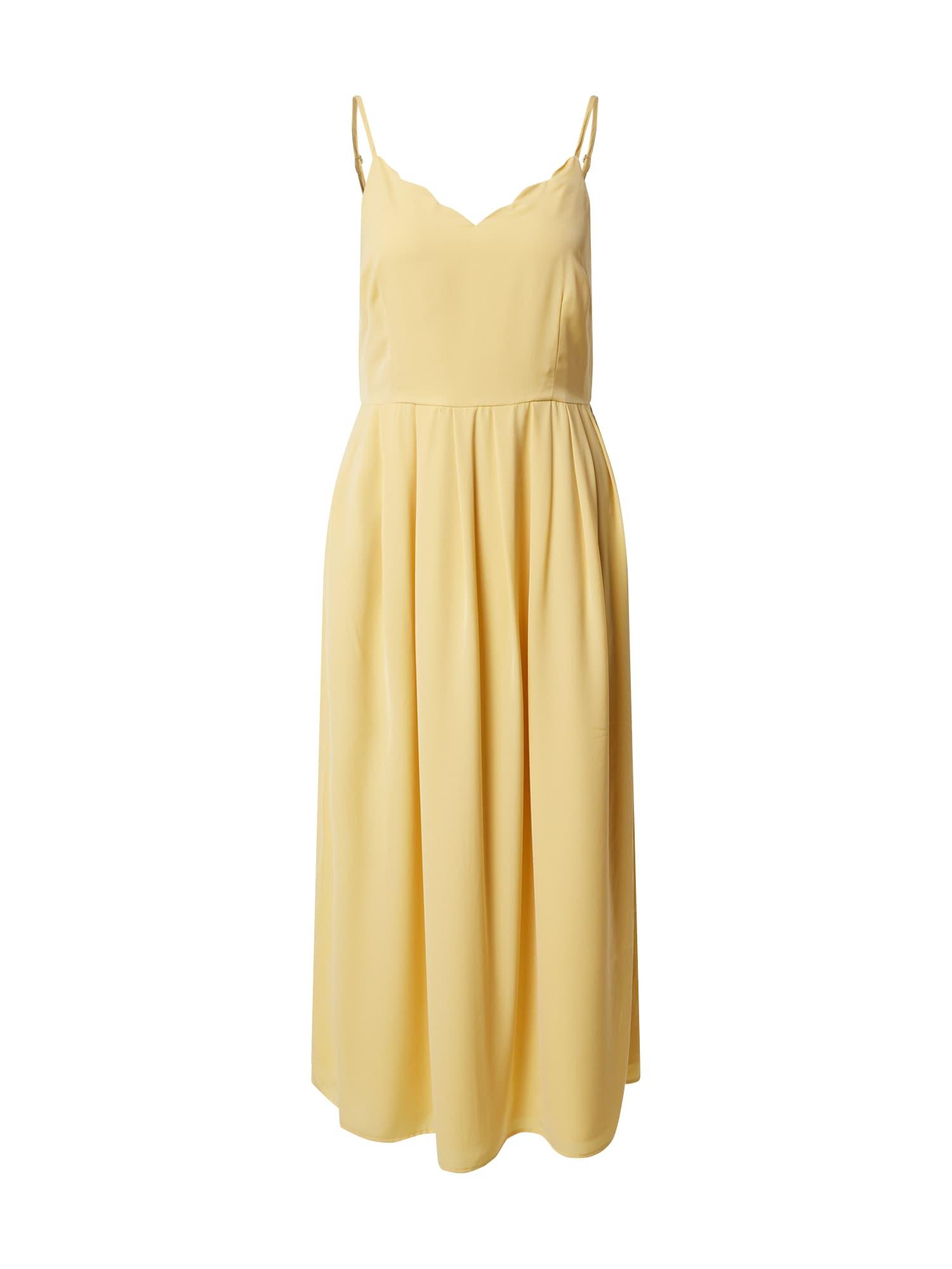 ONLY Letné šaty  citrónová