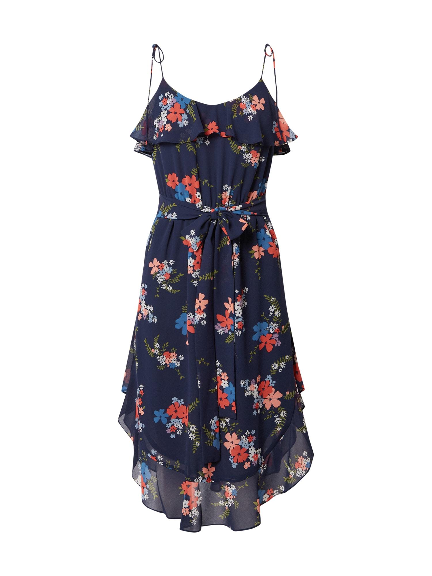 MICHAEL Michael Kors Vasarinė suknelė tamsiai mėlyna / dangaus žydra / purpurinė / granatų spalva / koralų splava / žolės žalia