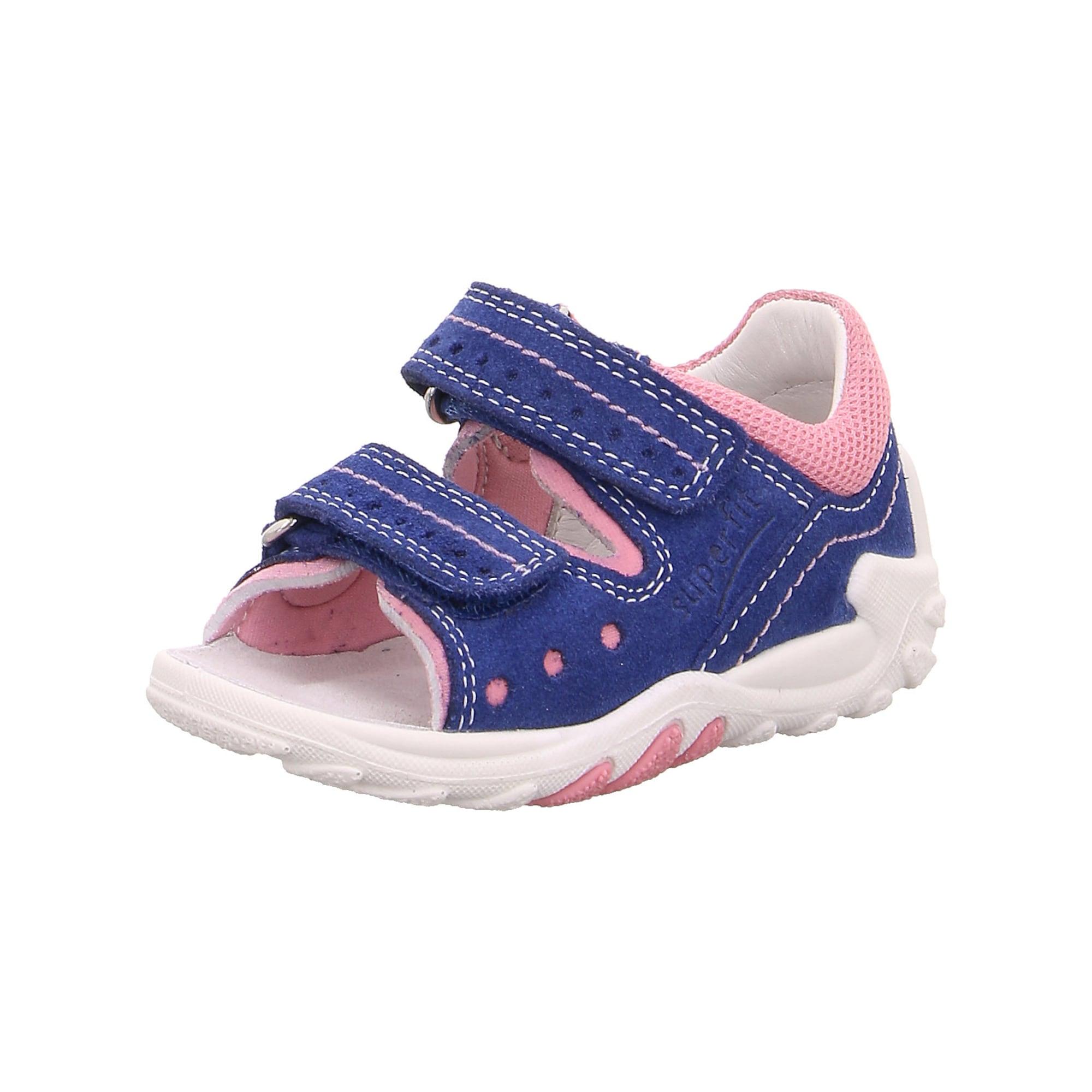 Otevřená obuv Flow modrá růžová SUPERFIT