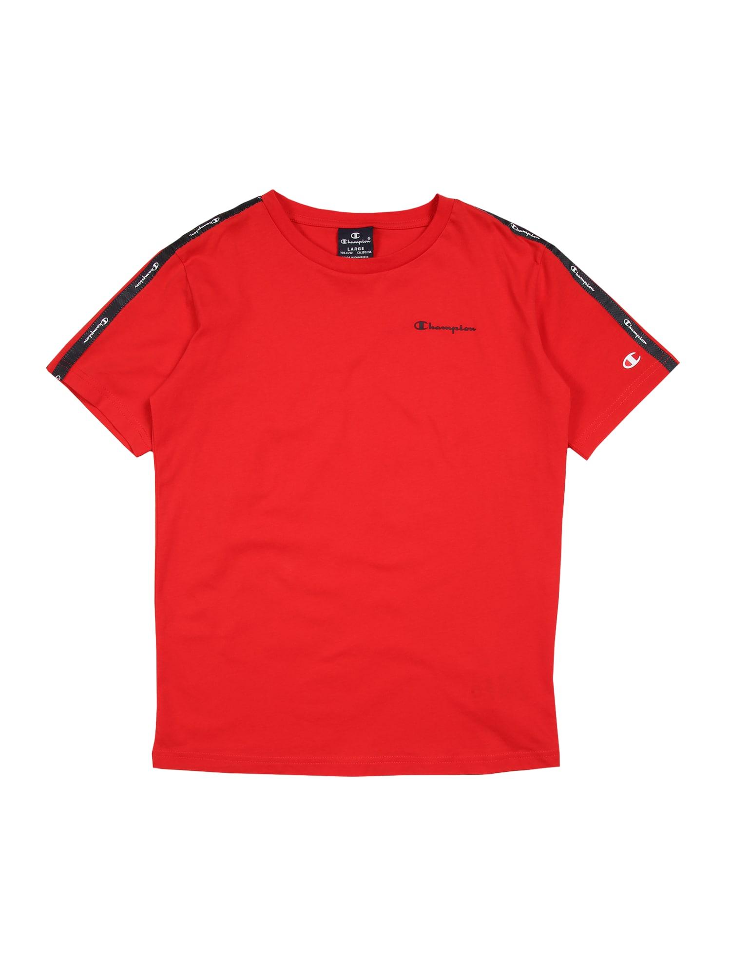 Champion Authentic Athletic Apparel Sportiniai marškinėliai raudona