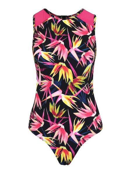 Bademode für Frauen - ESPRIT SPORTS Badeanzug 'RIO BEACH' gelb pink schwarz  - Onlineshop ABOUT YOU