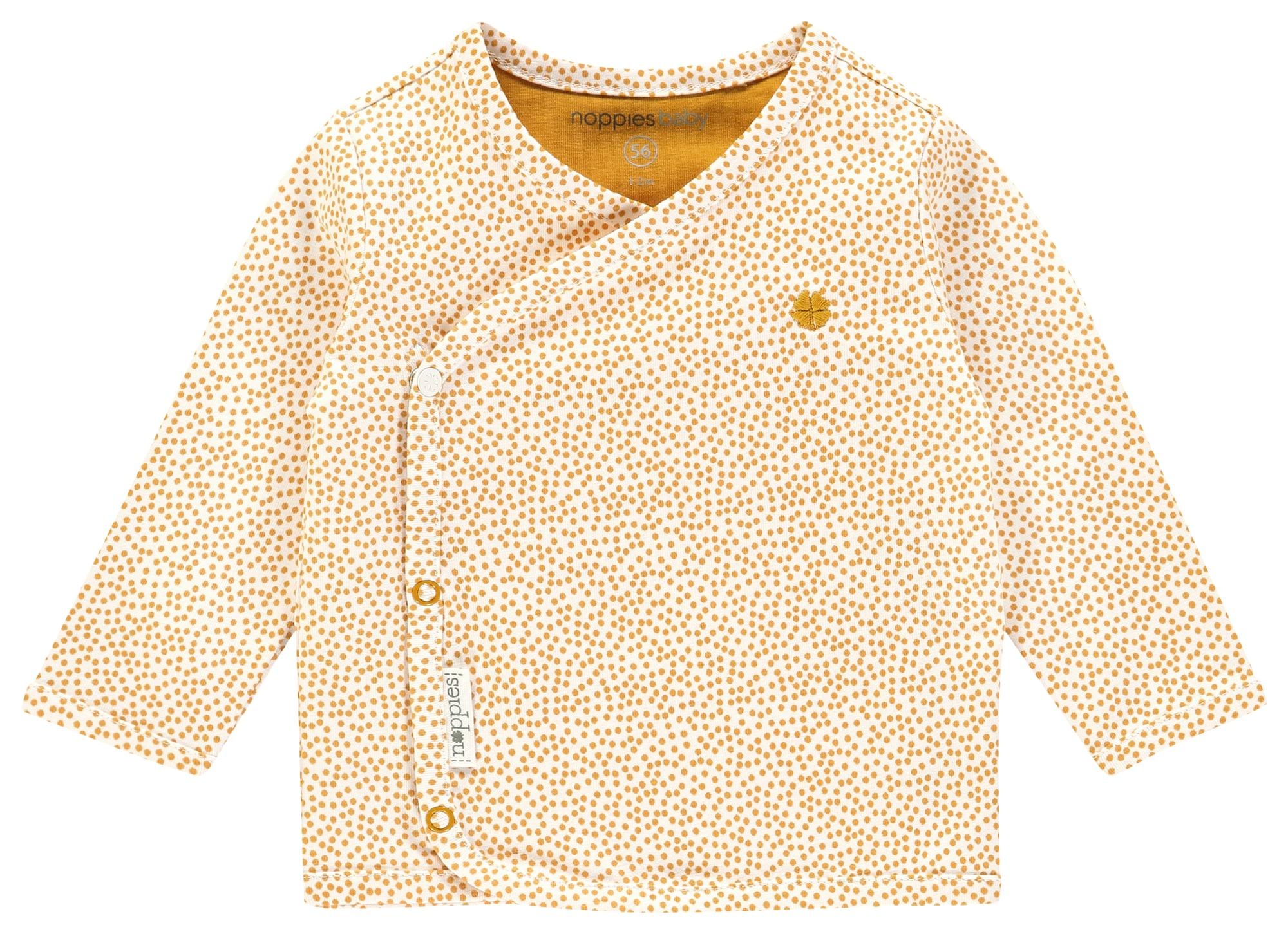 Noppies Marškinėliai 'Hannah' smėlio / geltona
