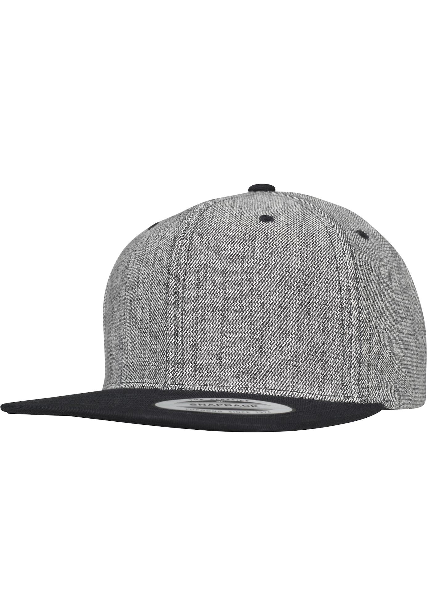 Flexfit Kepurė margai juoda / juoda