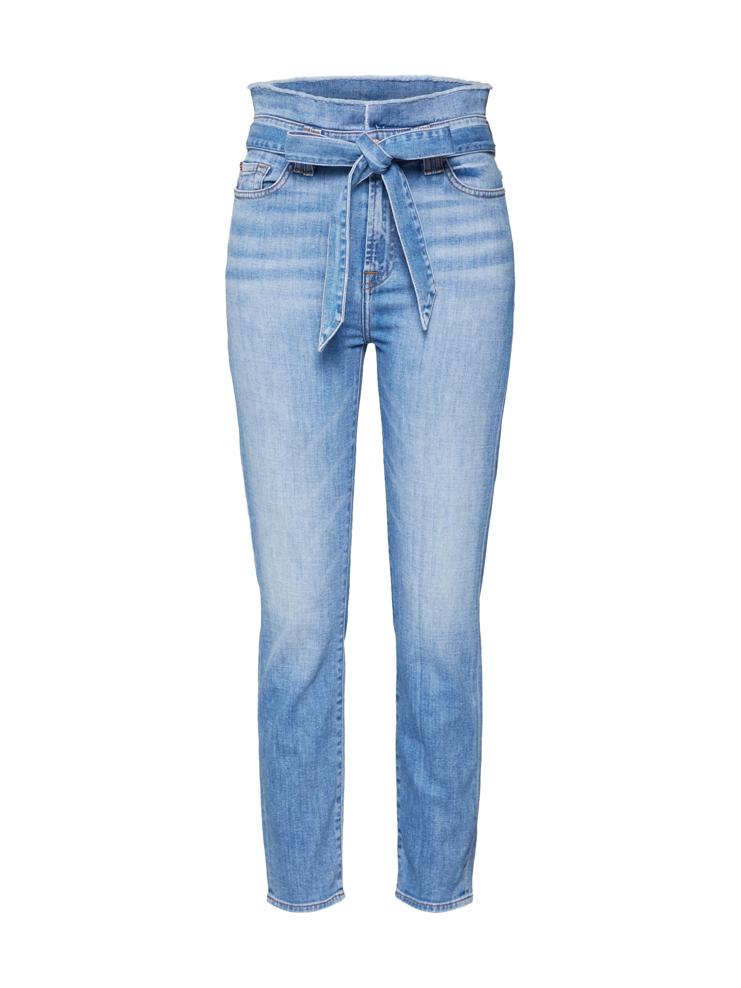 7 for all mankind Džinsai 'PAPERBAG WAIST PANT' tamsiai (džinso) mėlyna