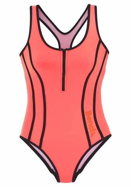 Bademode - Badeanzug › Bench › orange schwarz  - Onlineshop ABOUT YOU