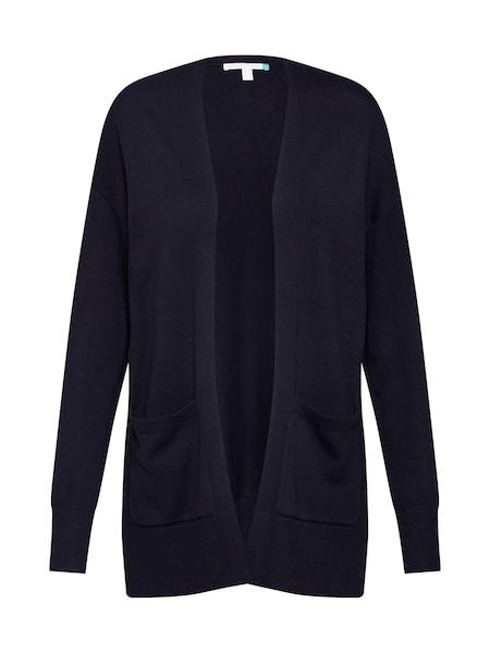 Jacken für Frauen - ESPRIT Damen Pullover Strickjacken 'OCS LLT cardigan' schwarz  - Onlineshop ABOUT YOU