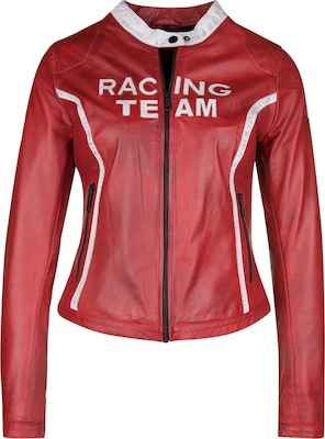 FREAKY NATION Lederjacke RACING TEAM
