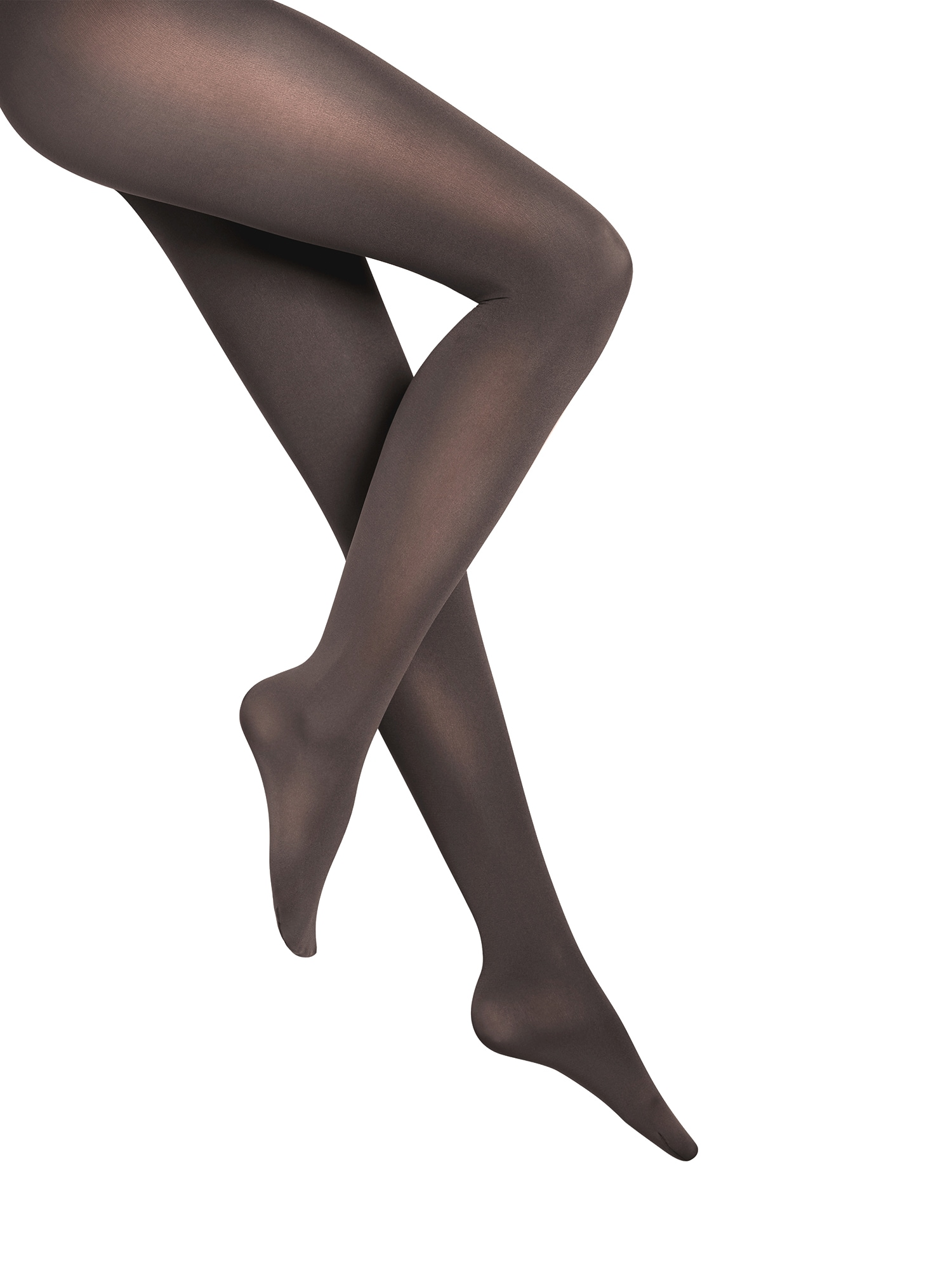 Wolford Jemné pančuchy 'Velvet de Luxe 66 Comfort Tigh'  antracitová