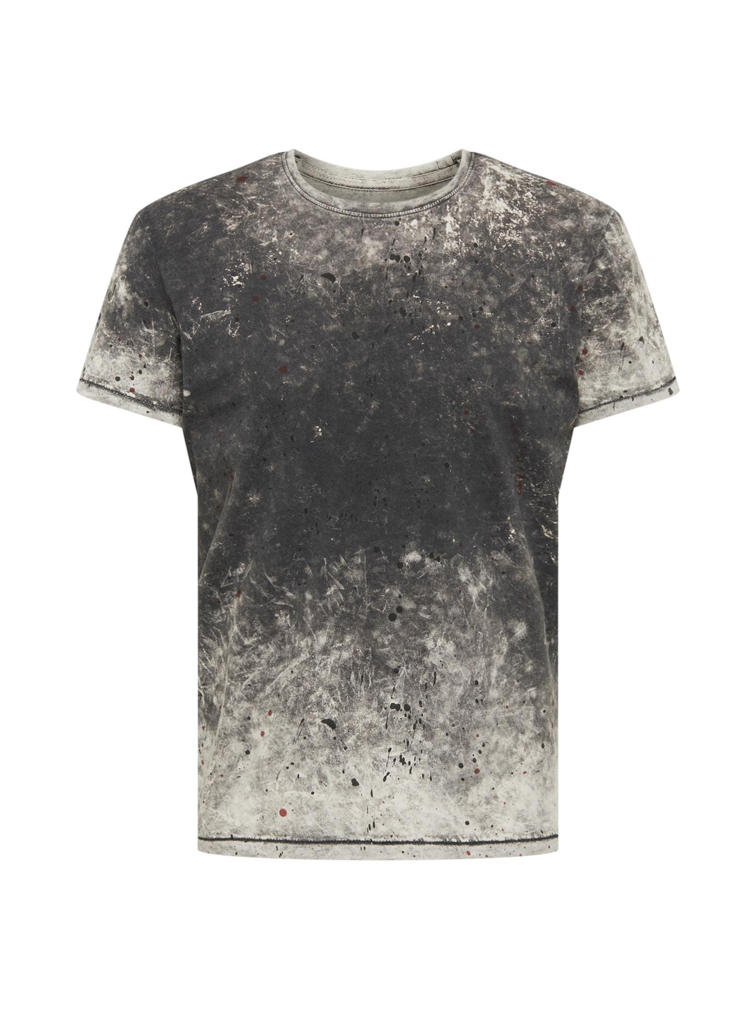 Tričko šedá černá YOURTURN