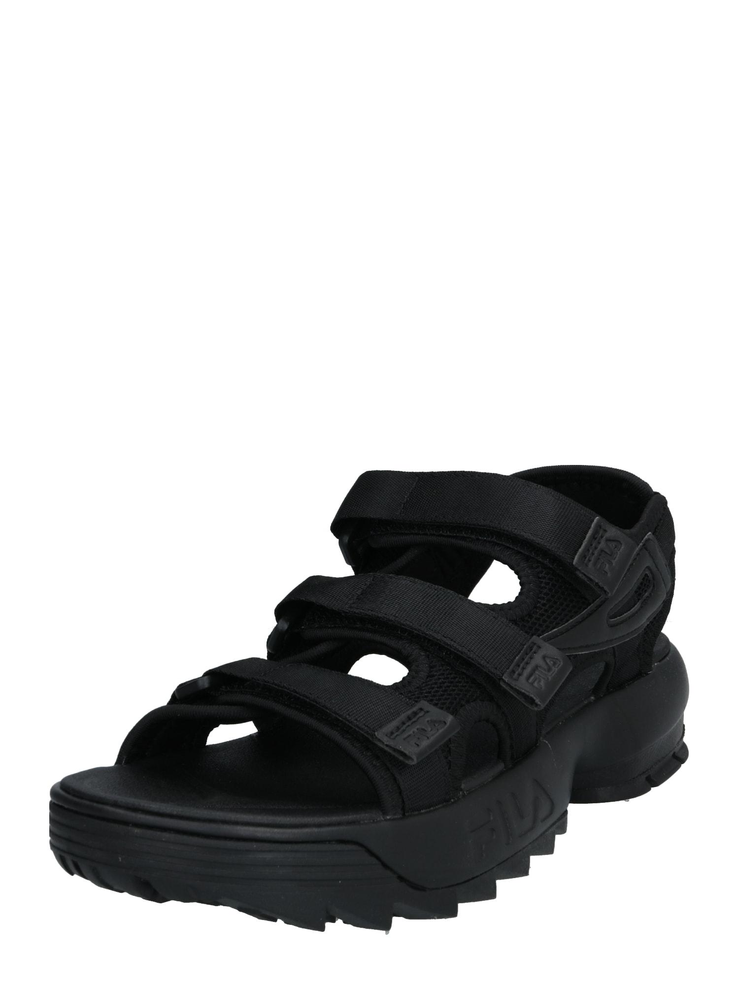 FILA Sportinio tipo sandalai 'Heritage' juoda