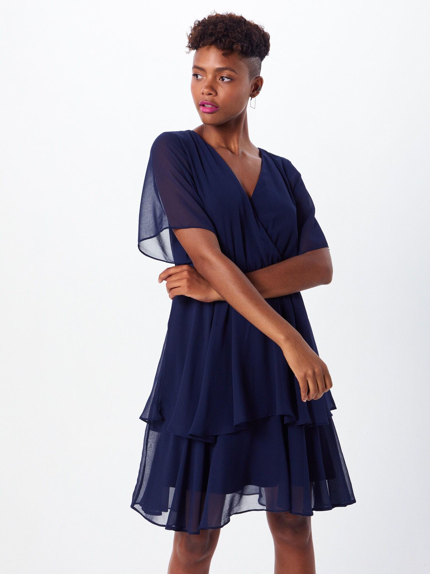 ABOUT YOU Cocktailklänning 'Leia Dress'  marinblå
