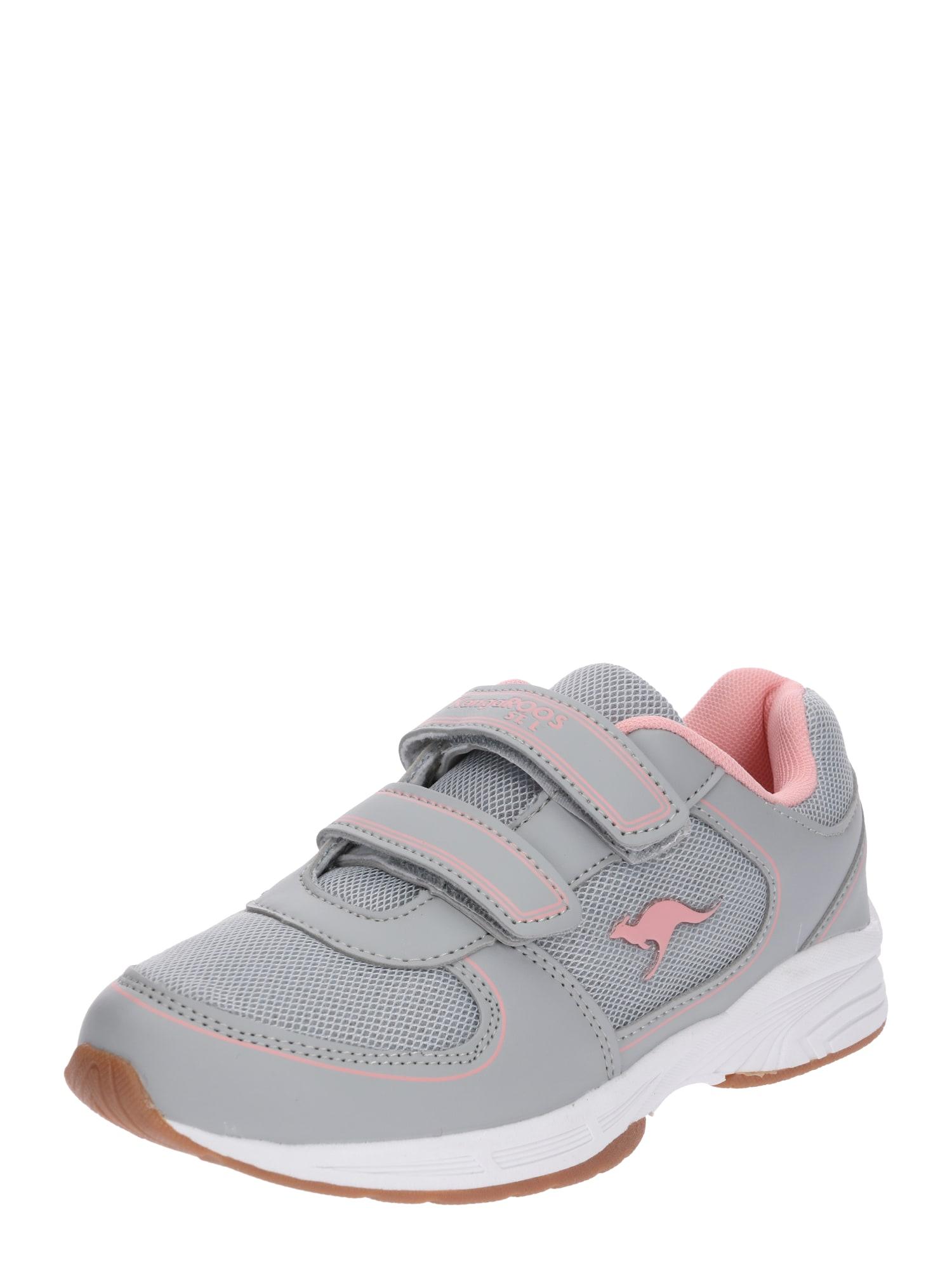 Tenisky šedá pink KangaROOS