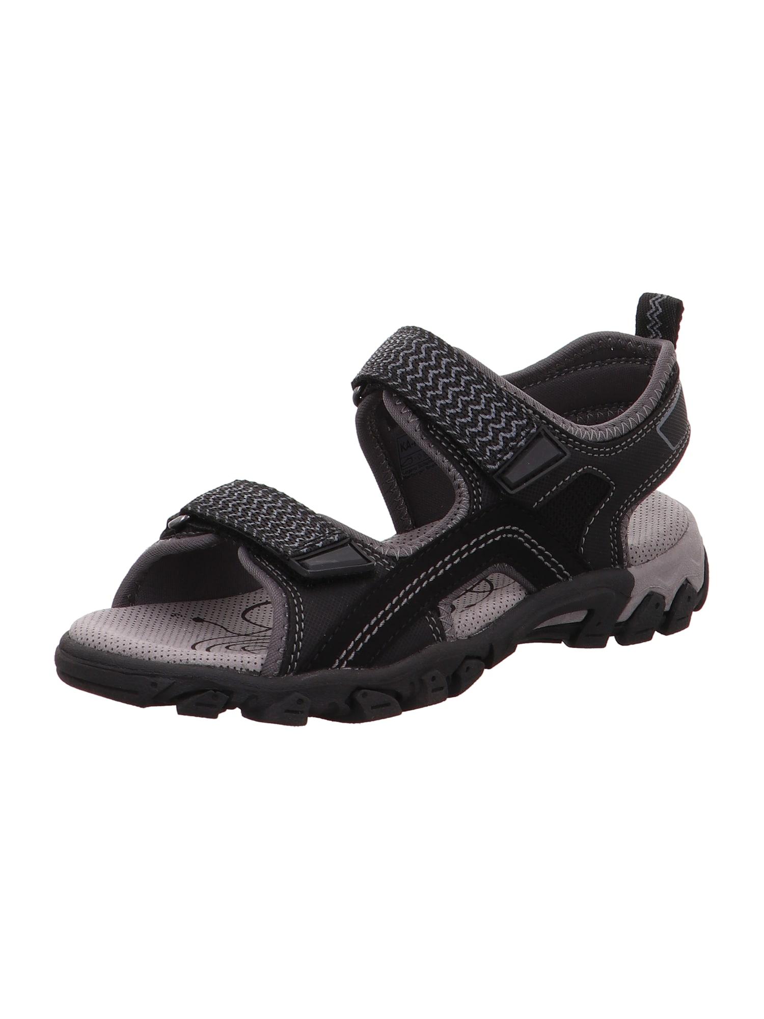 SUPERFIT Atviri batai 'HIKE' juoda