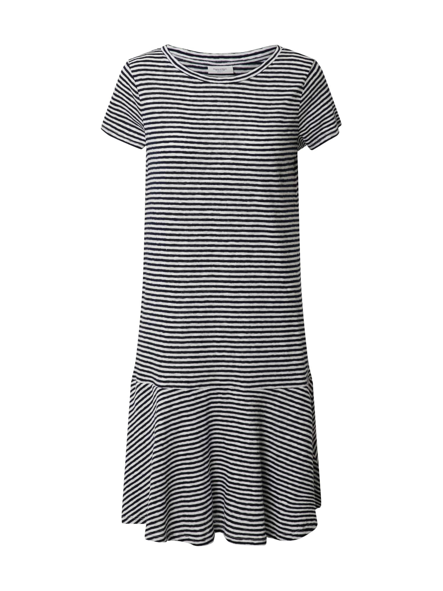 Marc O'Polo DENIM Suknelė balta / mėlyna