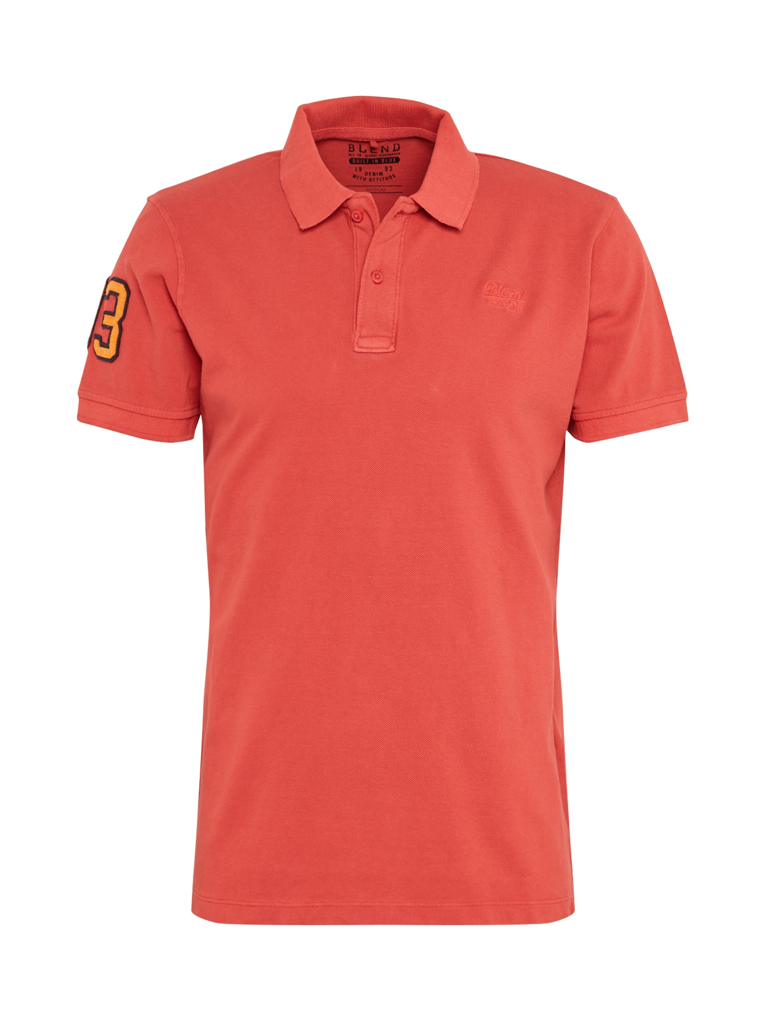 BLEND Marškinėliai raudona