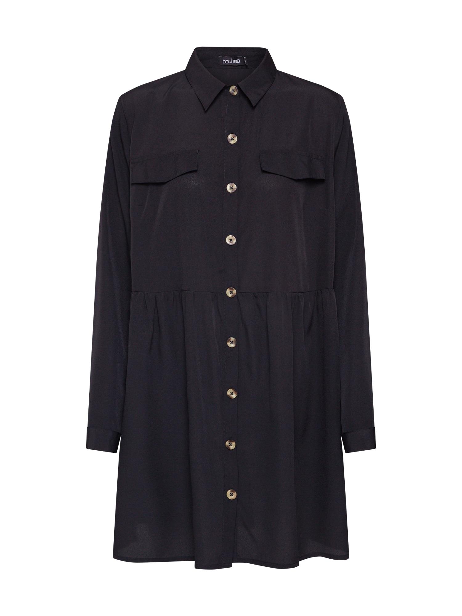 Boohoo Palaidinės tipo suknelė juoda