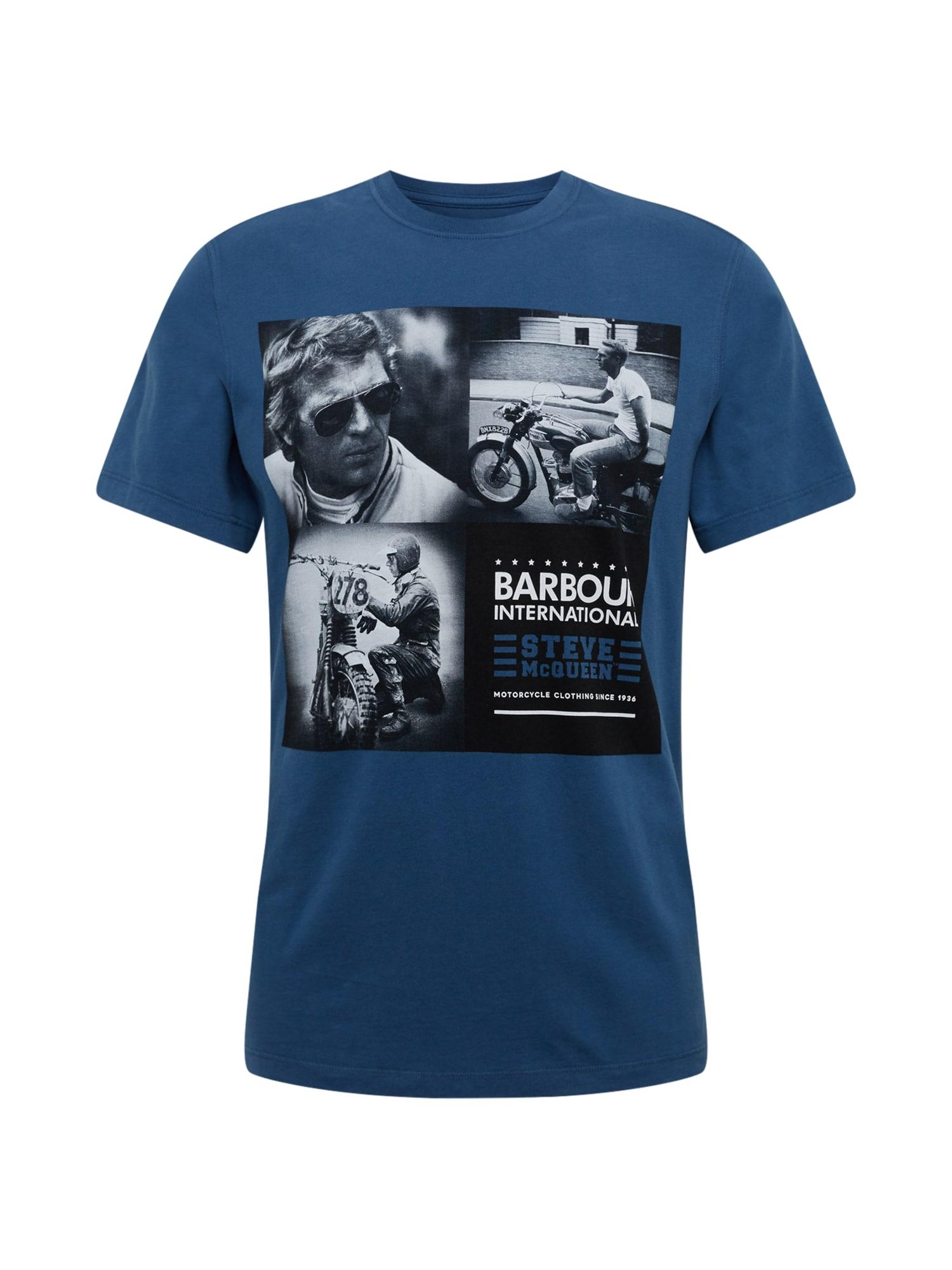 Barbour International Marškinėliai mėlyna