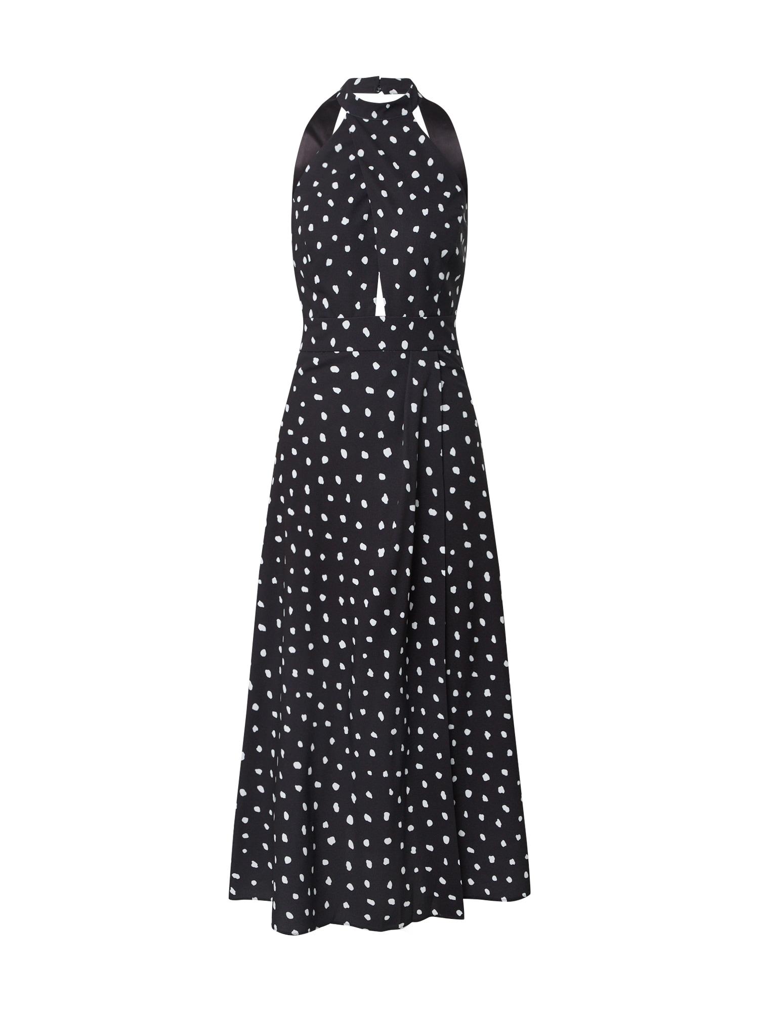 Forever New Suknelė 'Darcey' balta / juoda