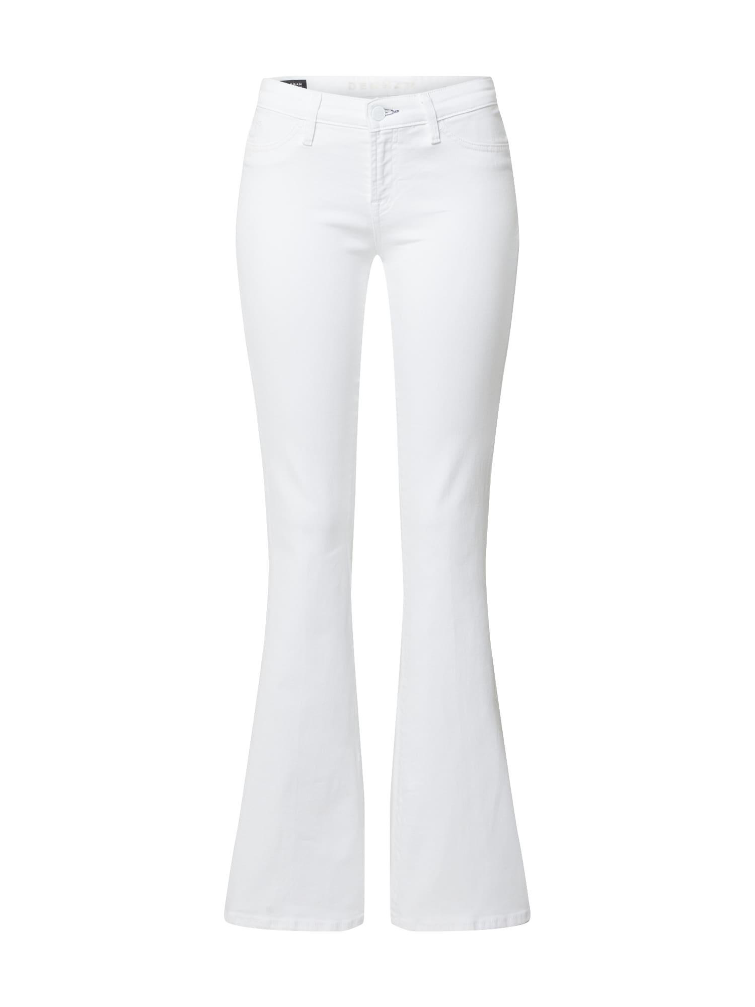 DENHAM Džinsai 'FARRAH WHITE' balto džinso spalva