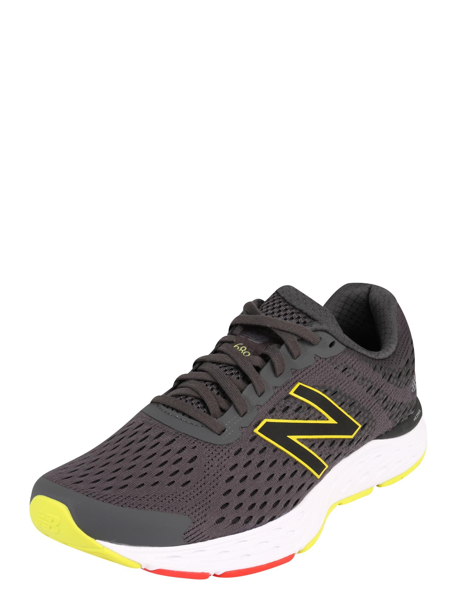 new balance Bėgimo batai '680 V6' geltona / antracito