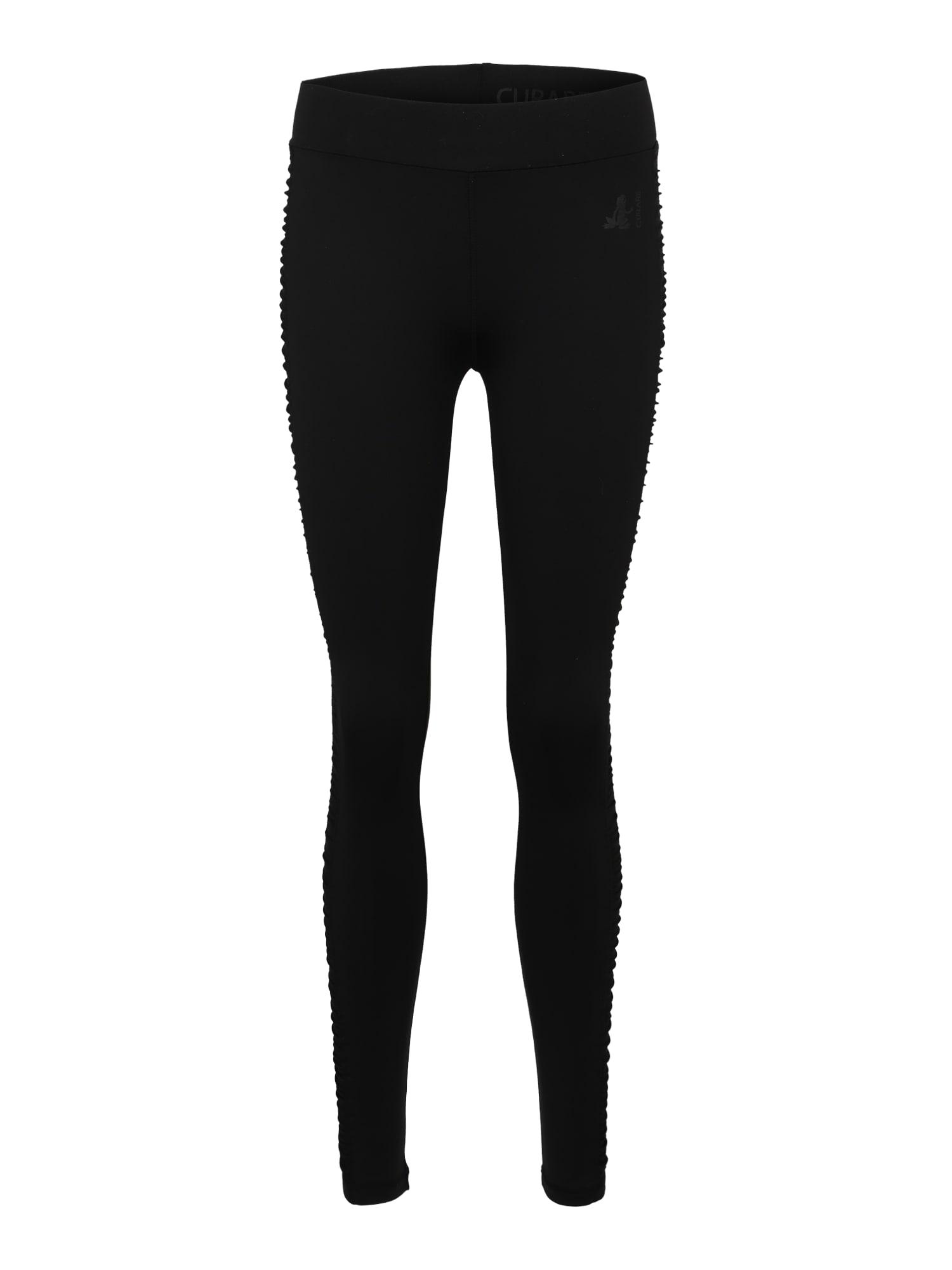 Sportovní kalhoty Breath černá CURARE Yogawear