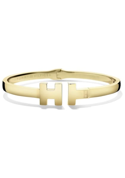 Armbaender für Frauen - TOMMY HILFIGER Armspange »Classic Signature, 2700854« gold  - Onlineshop ABOUT YOU