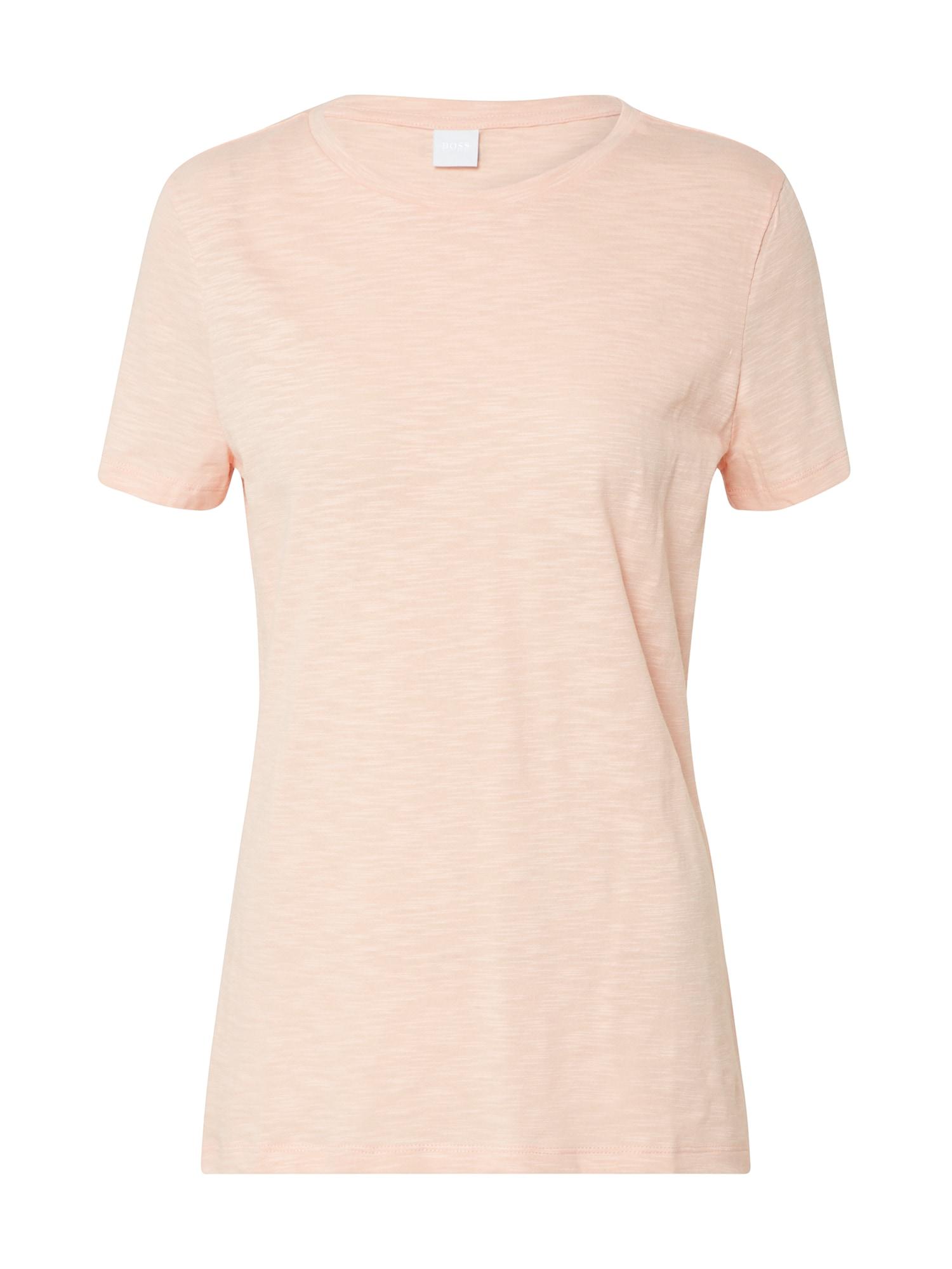 BOSS Marškinėliai 'Tesue' oranžinė