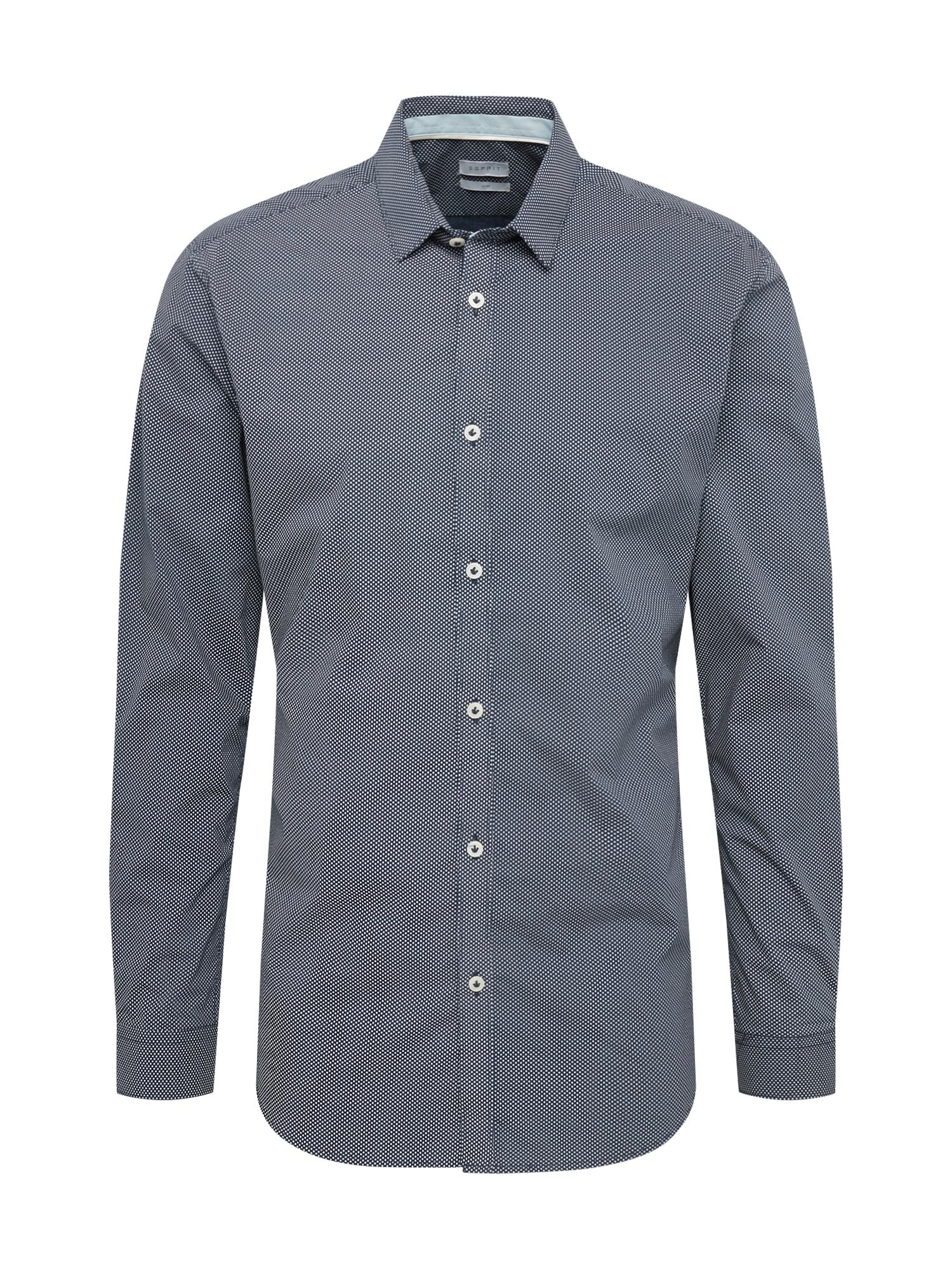 Esprit Collection Dalykinio stiliaus marškiniai tamsiai mėlyna