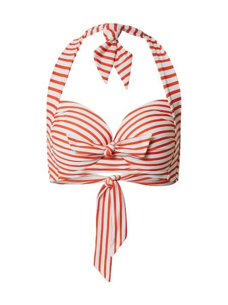 Bademode - Bikinitop 'Manana' › Shiwi › hellrot weiß  - Onlineshop ABOUT YOU