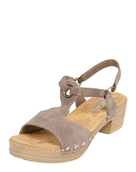 Sandalen für Frauen - RIEKER Sandale taupe  - Onlineshop ABOUT YOU