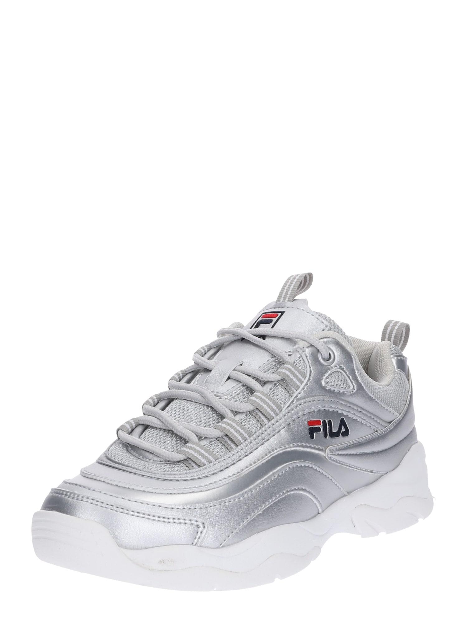 Tenisky Ray F stříbrná bílá FILA