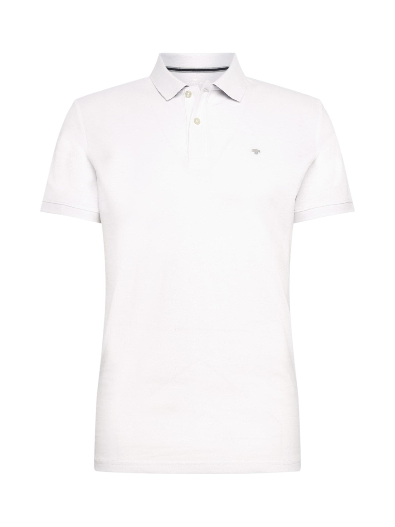 TOM TAILOR Tričko  biela
